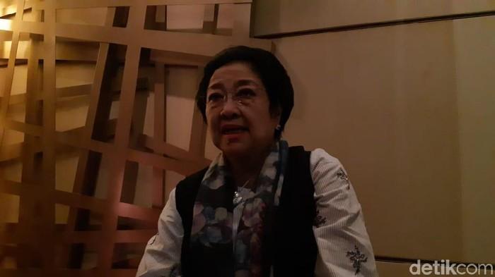 Ketua Umum PDI Perjuangan Megawati Soekarnoputri (Herianto Batubara/detikcom)