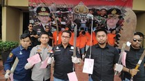 Polisi Tembak 5 Anggota Geng Motor Pelaku Tawuran di Jakbar