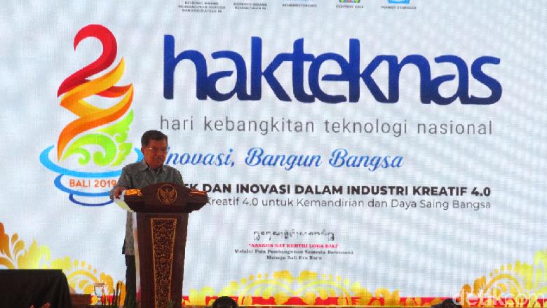 JK: Inovasi Teknologi Hanya Bermakna Bila Bisa Dikomersialkan