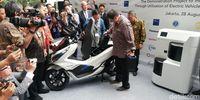 Kemenperin kerjasama dengan Motor listrik Honda
