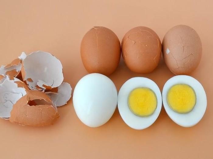 olahan telur rebus untuk sarapan