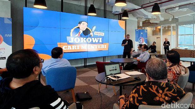 Para Pakar Berkumpul 'Bantu Jokowi Cari Menteri' /