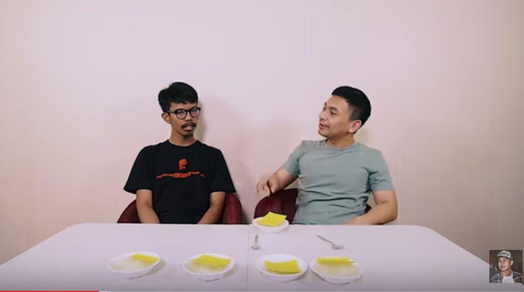 Ini Garam dan Telur yang Enak Menurut Komika Raditya Dika dan Pandu