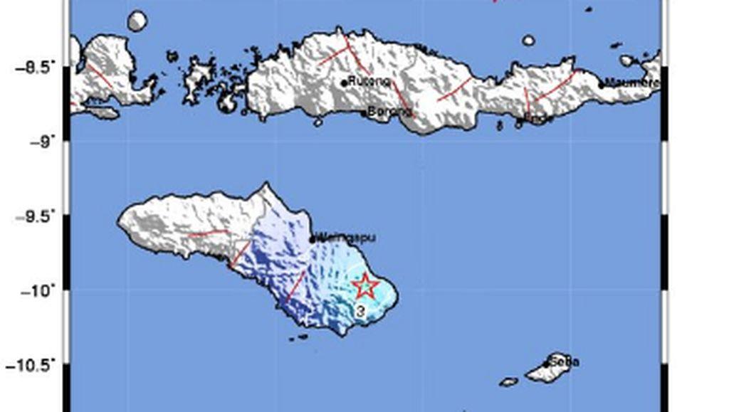 Gempa M 4,4 Guncang Wula Waijelu di Sumba Timur