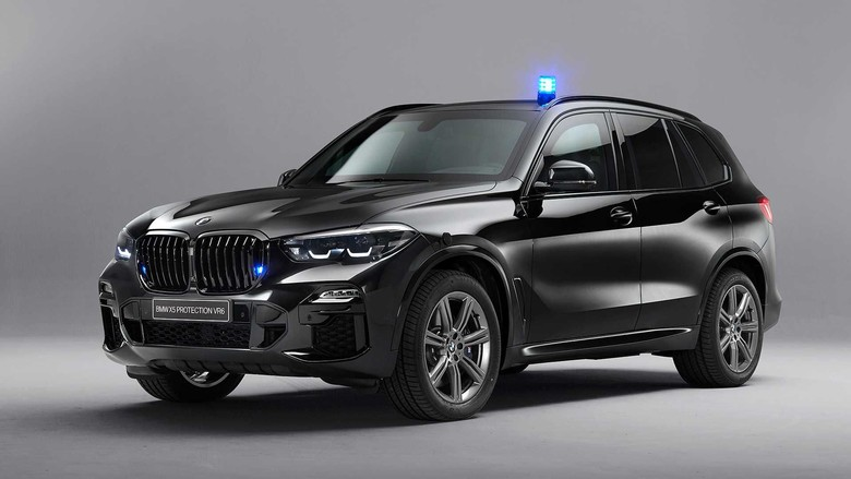 BMW X5 Protection VR6 Foto: Dok. BMW