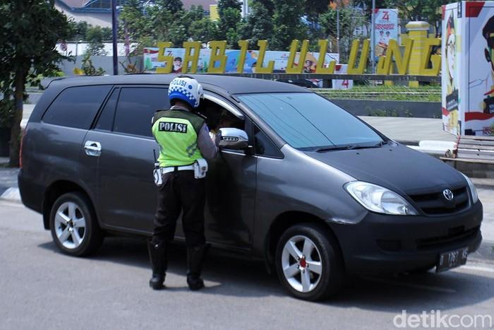 Satuan Lalu Lintas (Satlantas) Polres Bandung menggelar Operasi Patuh Lodaya Tahun 2019 di wilayah Kabupaten Bandung, Kamis (29/8/2019).
