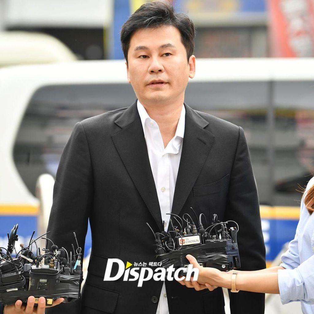 Yang Hyun Suk Diperiksa 14 Jam Terkait Kasus Narkoba B.I