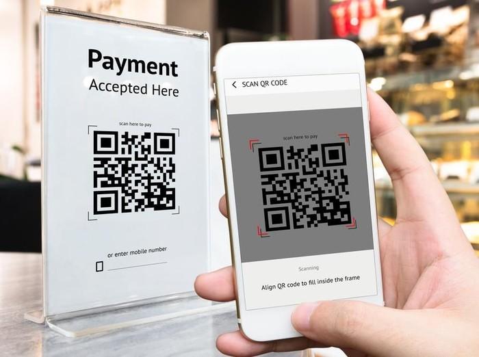 ilustrasi dompet digital