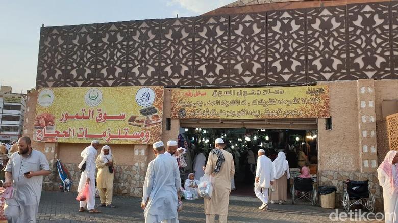 Tempat beli oleh-oleh murah meriah di Madinah (Ardhi/detikcom)