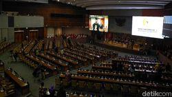 Rapat Paripurna HUT Ke-74 DPR, 263 Anggota Dewan Absen
