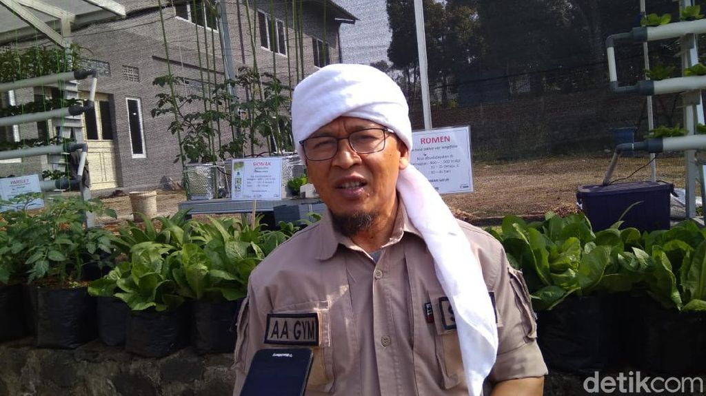 Aa Gym Harap Jokowi-Maruf Amin Jadi Pemimpin yang Adil