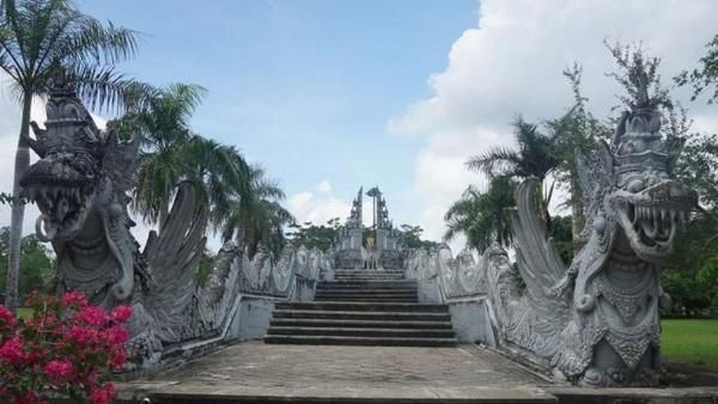 Ada Mitos Naga di Ibu Kota baru