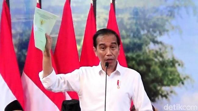 Presiden Jokowi/Foto: Rinto Heksantoro