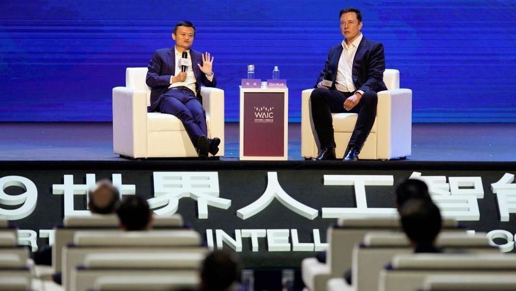 Elon Musk & Jack Ma Kompak Risaukan Dunia Kehabisan Orang