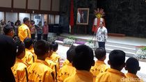 Lepas 96 Karateka ke Kejuaraan Nasional, Anies Pesan Jaga Nama Baik Jakarta
