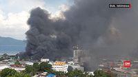 Kerusuhan sempat melanda Kota Jayapura, Papua sebagai buntut kasus rasialisme di Surabaya, Jawa Timur