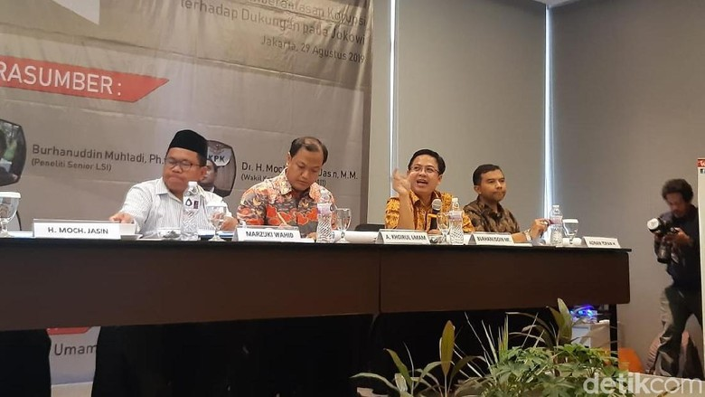 Survei LSI: KPK Lembaga Paling Dipercaya Masyarakat