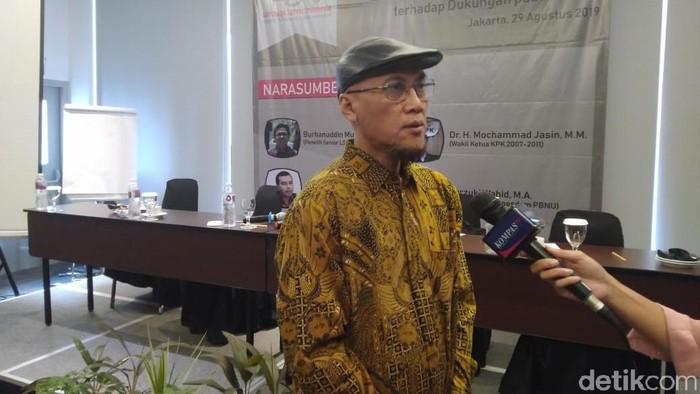 Eks Wakil Ketua KPK Mochammad Jasin