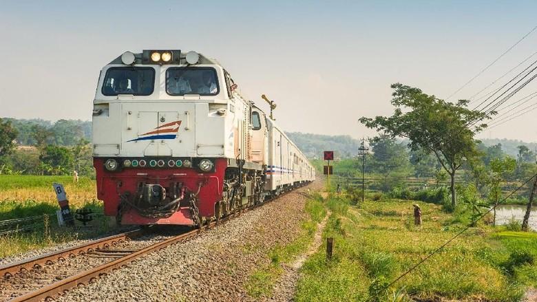 Ilustrasi kereta api (PT KAI/Istimewa)