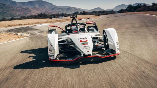 Ilustrasi Formula E Porsche