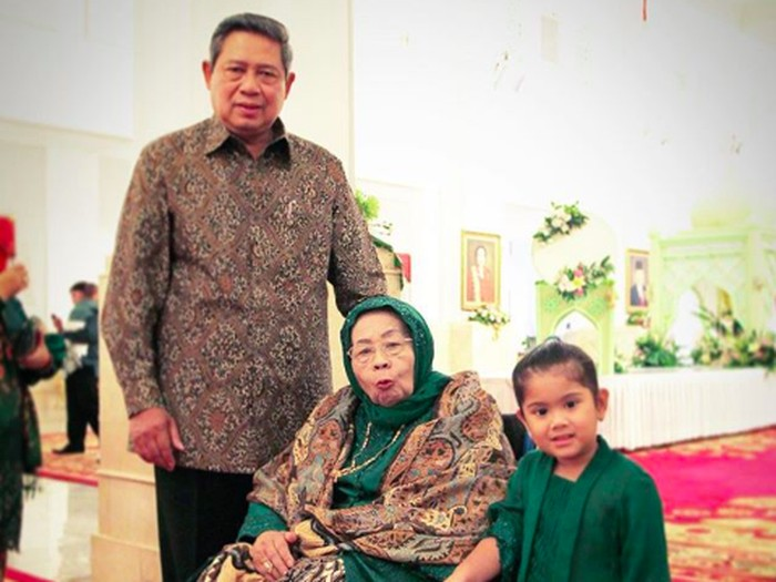 Postingan Instagram Annisa Yudhoyono saat memohon doa untuk kesembuhan Siti Habibah. Foto: Instagram @annisayudhoyono