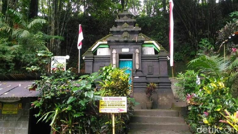 Petilasan Prabu Tawang Alun di Desa Bayu (Ardian/detikcom)