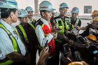 Presiden Joko Widodo (tengah) (dok Kementerian Pariwisata)