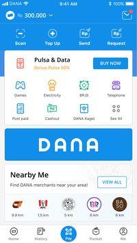 Versi Terbaru Dompet Digital Dana Tambah Fitur