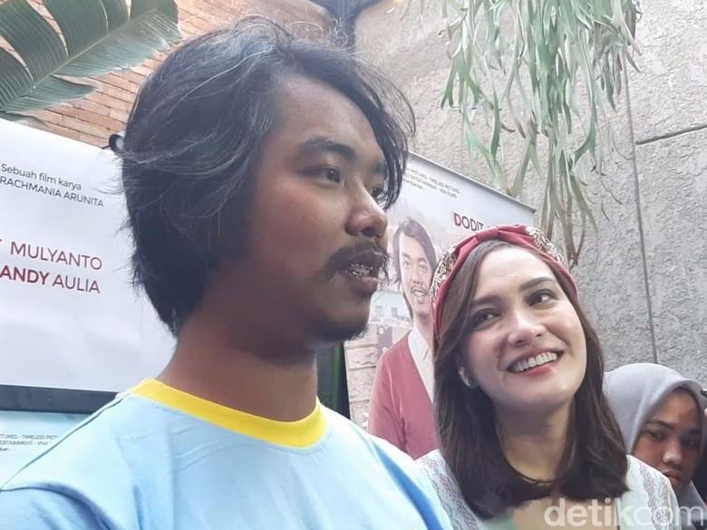 5 Fakta Cinta Itu Buta, Film Dodit Mulyanto Takjub Cium Shandy Aulia/Foto: Desi/detikHOT
