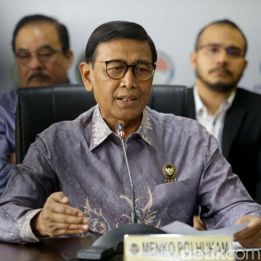 Keluar dari RSPAD, Wiranto Langsung ke Kantor untuk Acara Purna-Tugas