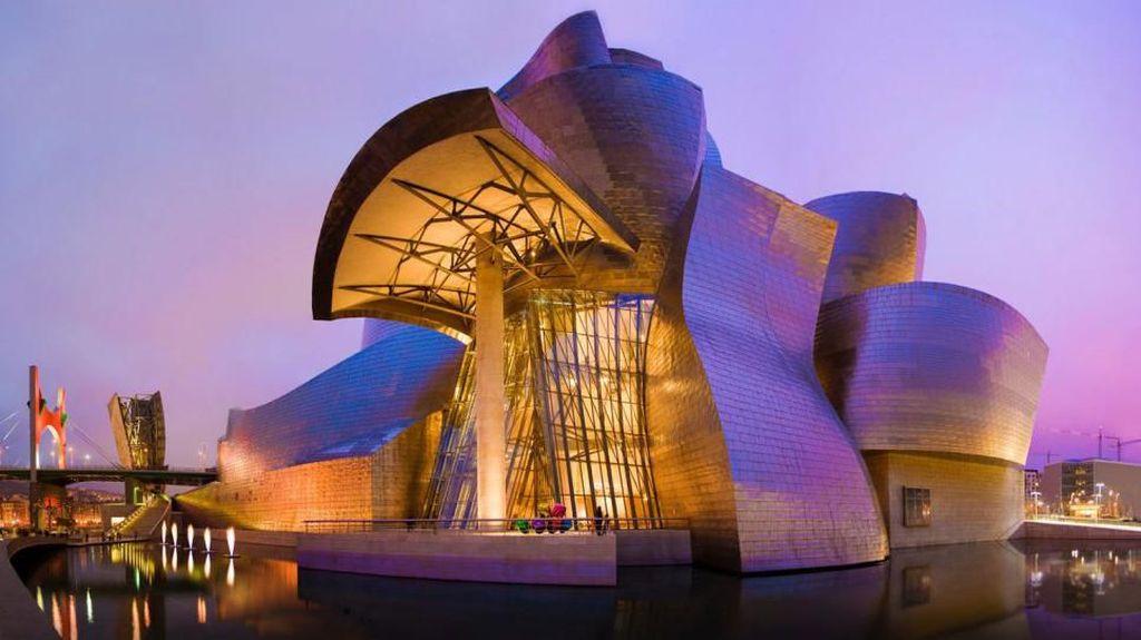 Mewahnya Restoran Nerua Guggenheim Bilbao di Museum Modern Spanyol
