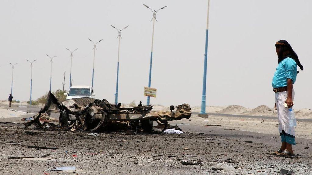 Ledakan Bom Bunuh Diri Tewaskan 6 Orang di Yaman