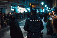 Kepolisian di Barcelona menambah jam patroli sampai malam (iStock)