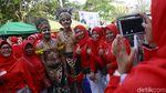 Meriahnya Festival Tanah Abang
