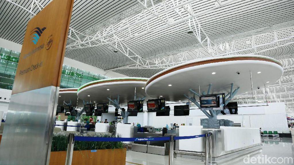 Terpukau Kemegahan Bandara Sepinggan di Balikpapan
