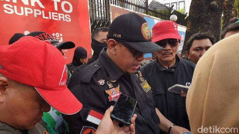 Perwakilan Gabungan Aksi Roda Dua (Garda) Indonesia hari ini (30/8/2019) mengunjungi Kedutaan Besar Malaysia di Rasuna Said, Kuningan, Jakarta.Foto: Luthfi Anshori