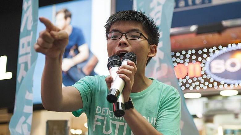 Aktivis Terkemuka Hong Kong Joshua Wong Ditangkap karena Alasan Ini