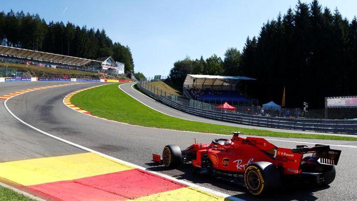 Charles Leclerc tercepat di Free Practice 2 GP Belgia (Francois Lenoir/Reuters)
