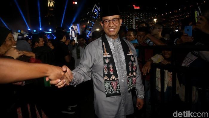 Gubernur DKI Jakarta Anies Baswedan (Foto: Agung Pambudhy/detikcom)