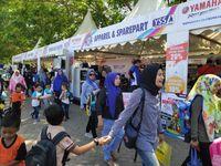 Ewako! Pesta Rakyat Hadir di Pantai Losari Makassar