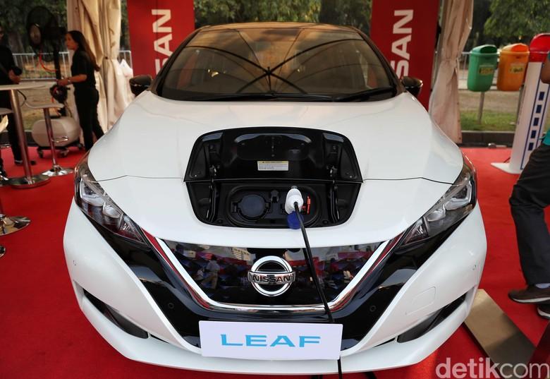 Nissan Leaf. Foto: Pradita Utama