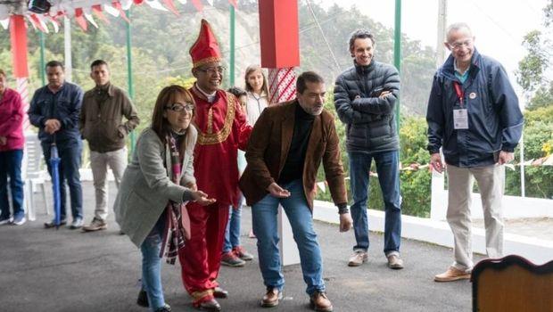 Ada Dangdut di Festival Indonesia Bogota, Warga Kolombia Ikut Bergoyang