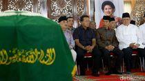 Momen Jokowi Hingga JK Melayat Ibunda SBY di Puri Cikeas