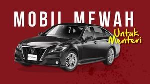 Menteri Baru Jokowi Sudah Siap Pakai Mobil Dinas Ini?