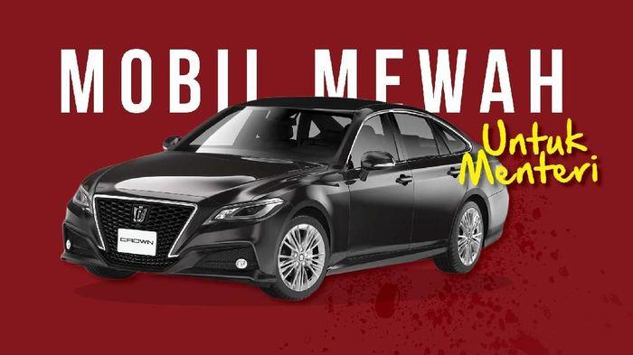Mobil Mewah untuk Menteri
