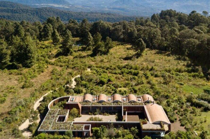 Terreno House terletak di Valle de Bravo, jarak tempuhnya hanya tiga jam dari Mexico City. Istimewa/Dok. Inhabitat.