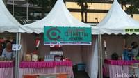 Memperingati Tahun Baru islam 1441 H, Jakarta Muharram Festival digelar di Bundaran HI. Banyak booth wisata kuliner halal di sana dari UMKM Tanah Abang dan UMKM Menteng (Tasya Khairally/detikcom)