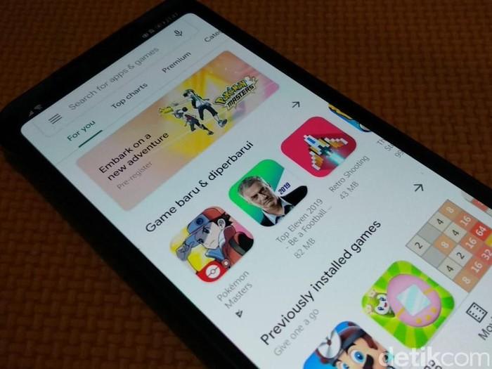 Ilustrasi google play store, Ilustrasi play store