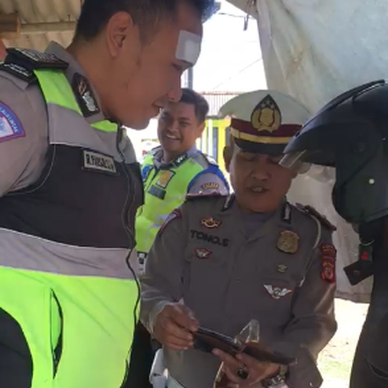 Screenshot video yang viral Foto: Istimewa