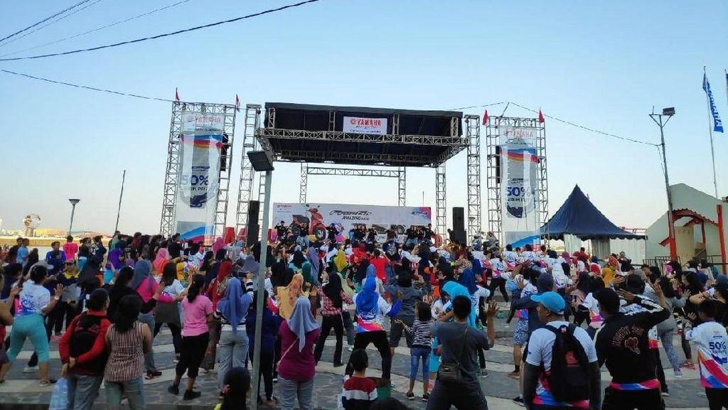 Meriah! Pesta Rakyat BYMS 2019 di Pantai Losari Makassar